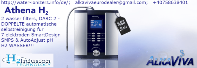 AlkaViva Athena H2 wasser ionisierer