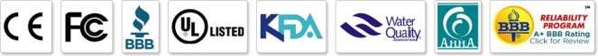 AlkaViva-Wasser-Ionisatoren-Filter-Zertifizierungen