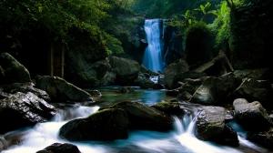 sauberes und natürlichen ionisierten Wasser, Vilcabamba, Ecuador